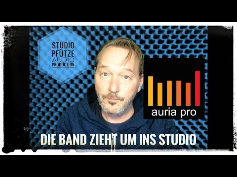 Die Band zieht um ins Studio - auria pro