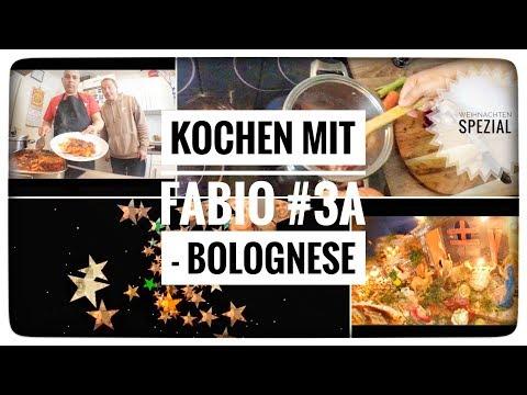 Kochen mit Fabio #3a - Bolognese
